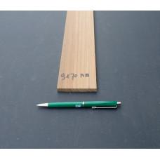 Teak lijfhout 9 x 70 mm