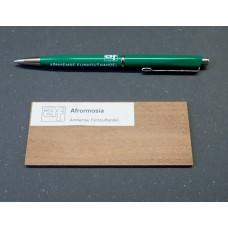 Afrormosia houtmonster