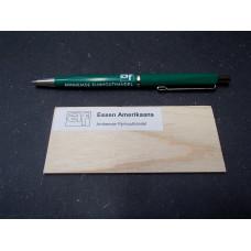 Essen Amerikaans houtmonster