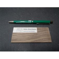Noten Amerikaans houtmonster