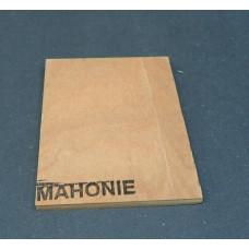 Plaatmateriaalmonster mahonie garantiemultiplex