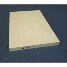 Plaatmateriaalmonster  MDF  V313 (verhoogde vochtbestendigheid)