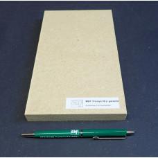 Plaatmateriaalmonster  MDF  Tricoya  (watervast met garantie)
