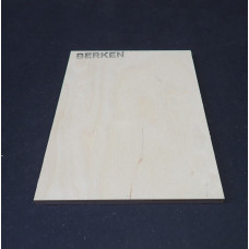 Plaatmateriaalmonster Berken triplex / multiplex