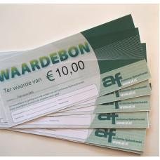 Waardebon 10 euro